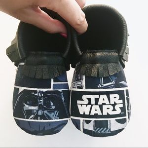 Other - Star Wars baby toddler moccasins moccs shoes